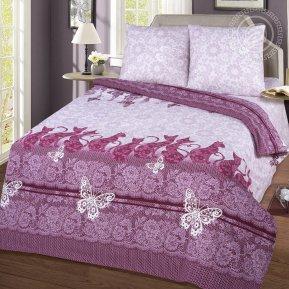«Шармэль» двуспальное с европростыней постельное белье, Бязь, Арт Дизайн