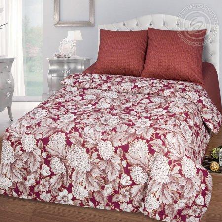 Постельное белье «Бургундия» 1,5 - спальное, Бязь, Арт Дизайн