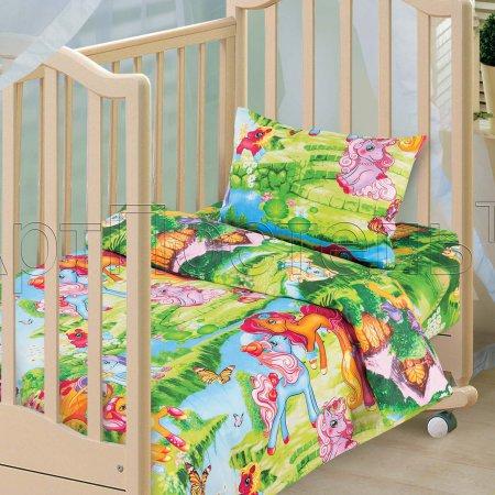 «Волшебные сны» дет. кроватка постельное белье, Бязь, Арт Дизайн