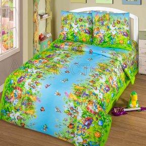 «Маленькая страна» 1,5 - спальное постельное белье, БЯЗЬ, Арт Дизайн