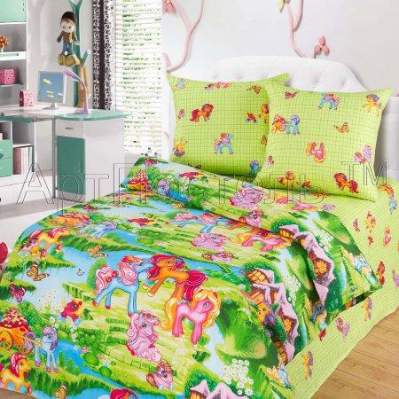 «Волшебные сны» 1,5 - спальное постельное белье, Бязь, Арт Дизайн
