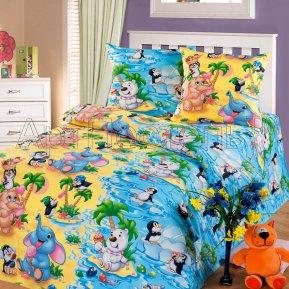 «Чудо-остров» 1,5 - спальное постельное белье, БЯЗЬ, Арт Дизайн