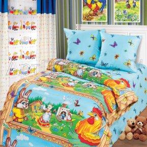 «Чудо-теремок» 1,5 - спальное постельное белье, БЯЗЬ, Арт Дизайн