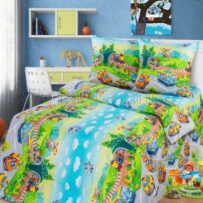 «Детский парк» 1,5 - спальное постельное белье, БЯЗЬ, Арт Дизайн