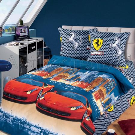 «Лидер» 1,5 - спальное постельное белье, Бязь, Арт Дизайн