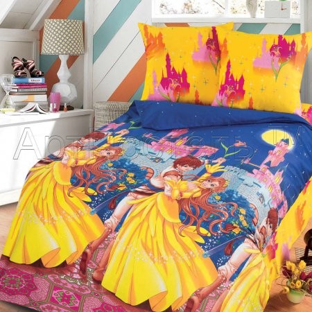 «Мир чудес» 1,5 - спальное постельное белье, Бязь, Арт Дизайн