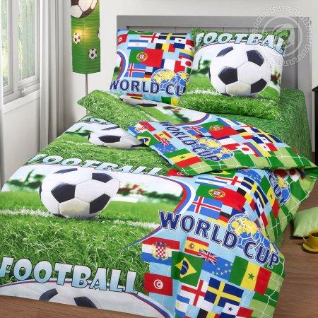«Спорт» 1,5 - спальное постельное белье, Бязь, Арт Дизайн