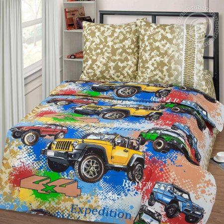«Джиппинг» 1,5 - спальное постельное белье, Бязь, Арт Дизайн