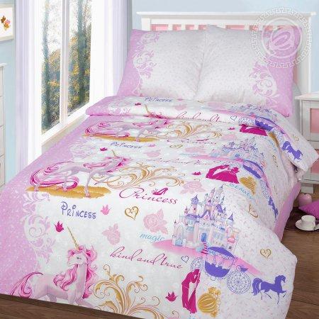 «Королевство» 1,5 - спальное постельное белье, Бязь, Арт Дизайн