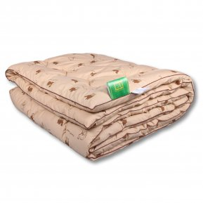 Одеяло «Сахара-Стандарт» 200*220 (Верблюжья шерсть) теплое, АльВиТек