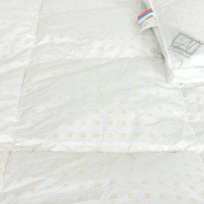 Одеяло «ОП-Л-15» 140*205 (Гусиный пух) теплое, АльВиТек