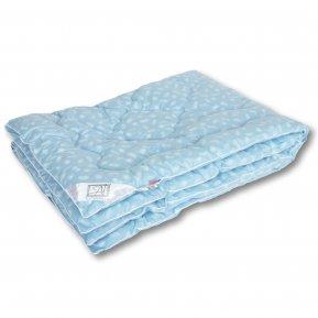 Одеяло «Лебяжий пух» тик 140*205 теплое, АльВиТек