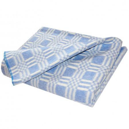 Одеяло байковое син. «Ермолино» 140х205 всесезонное, АльВиТек
