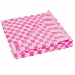 Одеяло байковое роз. «Ермолино» 100*140 всесезонное