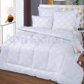 """Одеяло """"Лебяжий пух (Велюр)"""" 172*205 теплое, Арт Дизайн"""