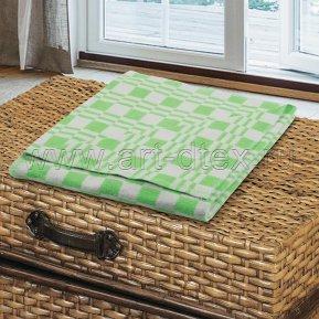 """Одеяло байковое """"Зеленое"""" 140*205 всесезонное, Арт Дизайн"""