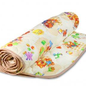 Одеяло детское «143/035-DO» 143*205 (Экофайбер) легкое, Cleo