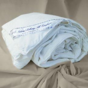 "Одеяло шелковое ""Premium"" 140х205 всесезонное"