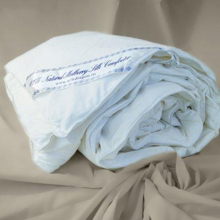 "Одеяло шелковое ""Premium"" 140х205 всесезонное, Silk Dragon"
