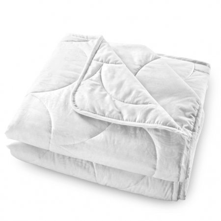 """Одеяло перкаль """"Лебяжий пух"""" 140х205 всесезонное, Текс-Дизайн"""