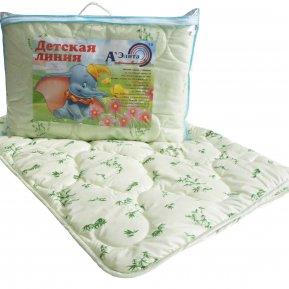 """Одеяло """"Детская линия"""" 110х140 (бамбук) всесезонное"""