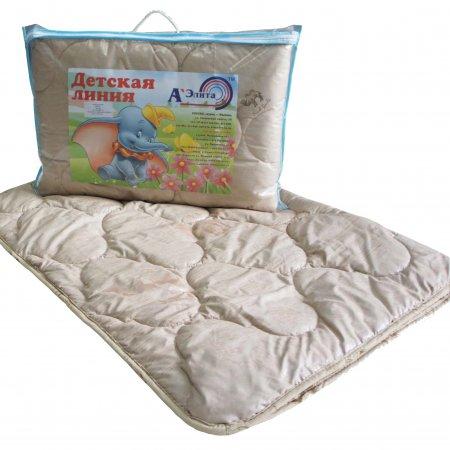 """Одеяло """"Детская линия"""" 110х140 (верблюжья шерсть) всесезонное, А-Элита"""
