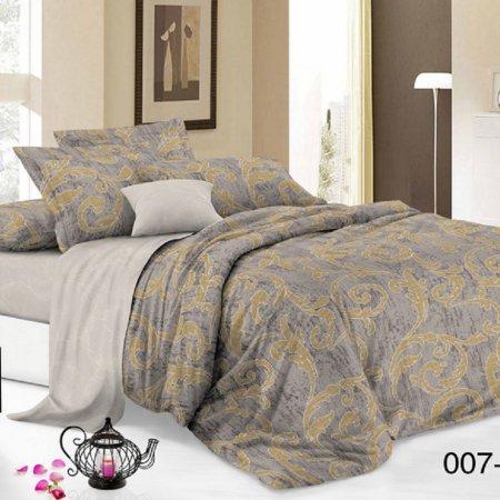 Постельное белье «15/007-PC» 1,5 - спальное, Поплин, Cleo