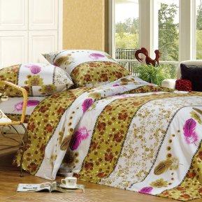 «A110» 1,5 - спальное постельное белье, Поплин, СайлиД