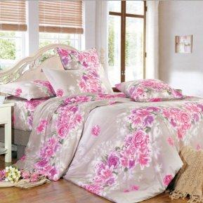 «A146» двуспальное постельное белье, Поплин, СайлиД
