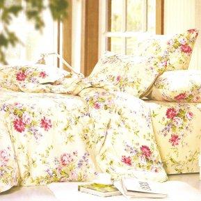«A155» 1,5 - спальное постельное белье, Поплин, СайлиД