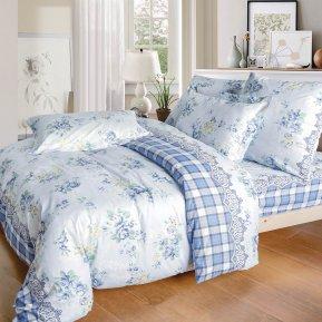 «A172(2)» двуспальное постельное белье, Поплин, СайлиД