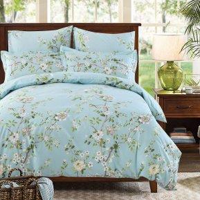 «A175» двуспальное постельное белье, Поплин, СайлиД
