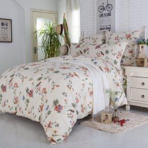 «A178» 1,5 - спальное постельное белье, Поплин, СайлиД