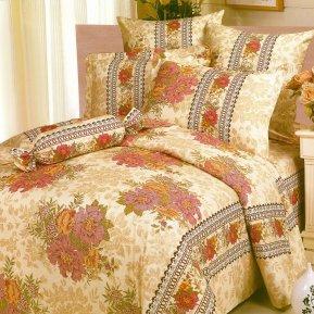 «A80» 1,5 - спальное постельное белье, Поплин, СайлиД