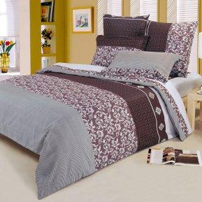 «A86» двуспальное постельное белье, Поплин, СайлиД