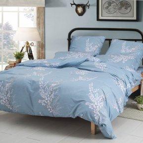 «A-183» 1,5 - спальное постельное белье, Поплин, СайлиД