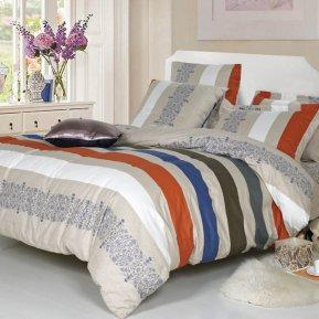 «A-168» 1,5 - спальное постельное белье, Поплин, СайлиД