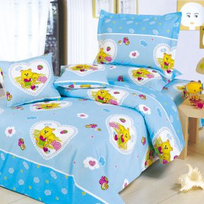 «C25» 1,5 - спальное постельное белье, ПОПЛИН, СайлиД