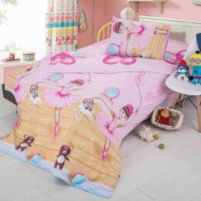 «C-71» 1,5 - спальное постельное белье, Поплин, СайлиД