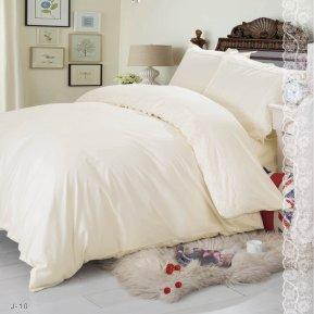 «J-10-B» 1,5 - спальное постельное белье, Поплин, СайлиД