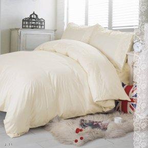 «J-11-B» двуспальное с европростыней постельное белье, Поплин, СайлиД