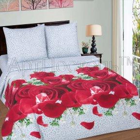 «Богиня» двуспальное с европростыней постельное белье, ПОПЛИН, Арт Дизайн