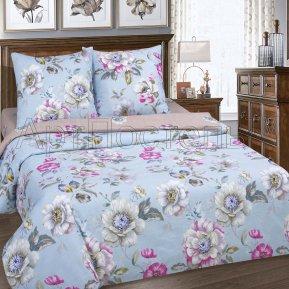 «Ева» двуспальное с европростыней постельное белье, ПОПЛИН, Арт Дизайн