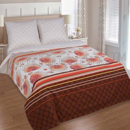Постельное белье «Гортензия №2» 1,5 - спальное, Поплин, Арт Дизайн