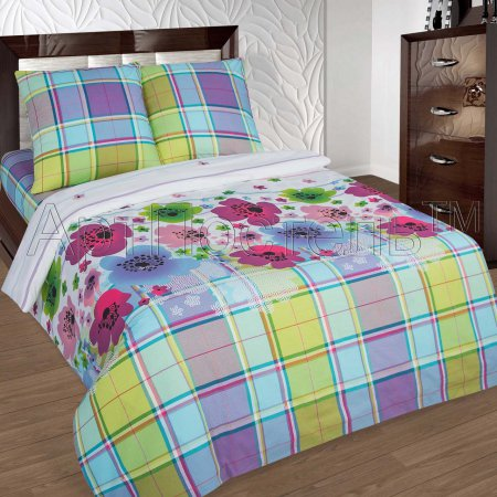 Постельное белье «Паулина» 1,5 - спальное, Поплин, Арт Дизайн