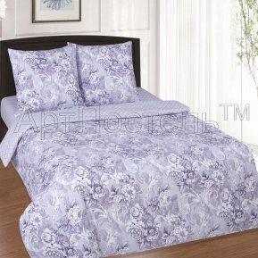 «Селена» 1,5 - спальное постельное белье, ПОПЛИН, Арт Дизайн