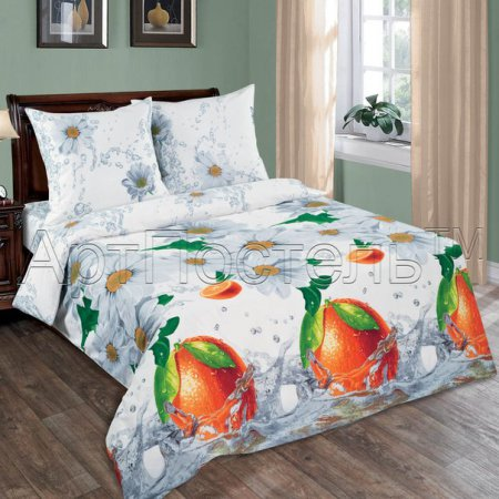 Постельное белье «Фреш» 1,5 - спальное, Поплин, Арт Дизайн