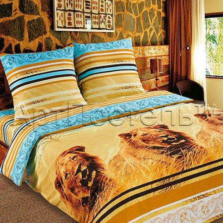 Постельное белье «Кинг» двуспальное с европростыней, Поплин, Арт Дизайн