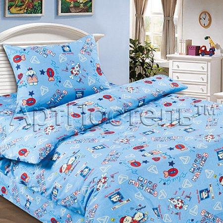«Морской» дет. кроватка постельное белье, Поплин, Арт Дизайн