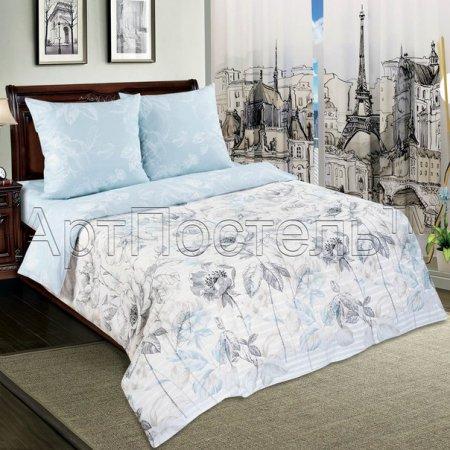 Постельное белье «Поэзия» 1,5 - спальное, Поплин, Арт Дизайн